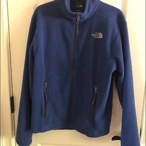 THE NORTH FACE Blue Fleece Jacket